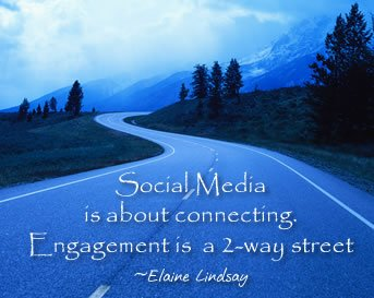 Elaine Lindsay talks about Social media engagement|two-way| Social media strategies