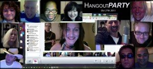 """Hangout Party|hangout|hangoutparty.com|CatBeach|HeatherFay|STeveAltman|TomMcWilliams|"""