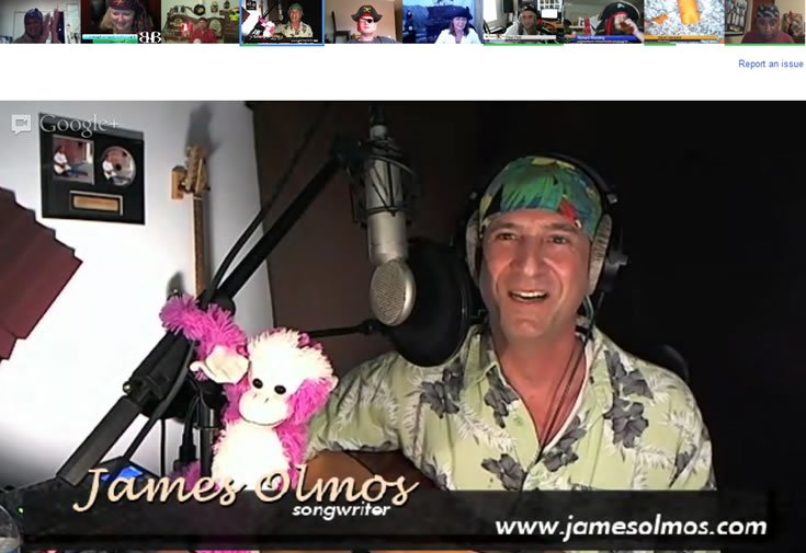 James-Olmos musical guest in the hangout