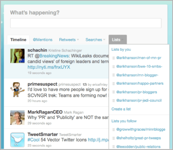 Lists and images on Twitter to make your content marketing go viral
