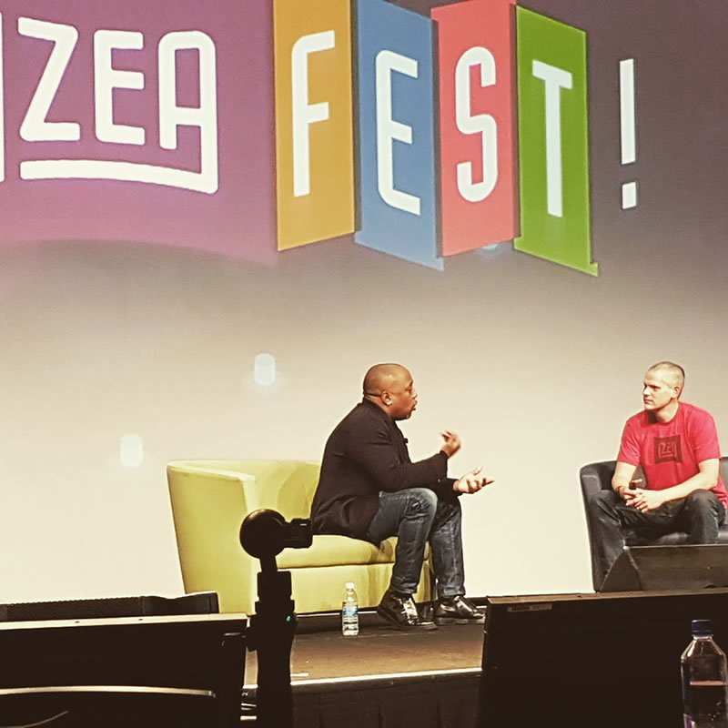 IZEAFest-daymond-john-ted-murphy-keynote-via-TROOL-social-media