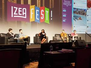 Influencer panel at IZEAFest the Influencer Marketing conference