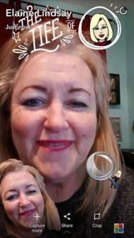Snapchat-elaine-lindsay-using-edits-fun-via-TROOL-social-media