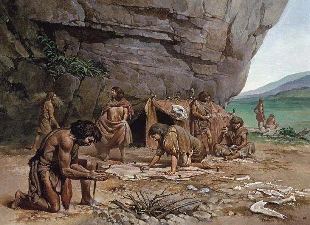 Prehistoric-Man-SOCIAL IS SOCIAL: AND WOM HELPS