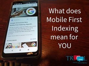 July 2018 Mobile First is actually ONLY Index